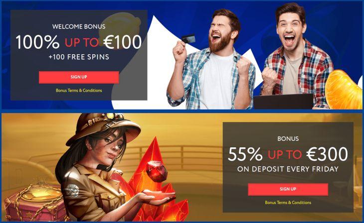 EUSlot Casino bonus