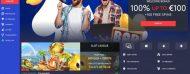 EUSlot Casino home page