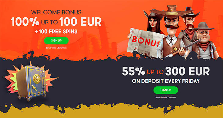 GunsBet Casino bonus