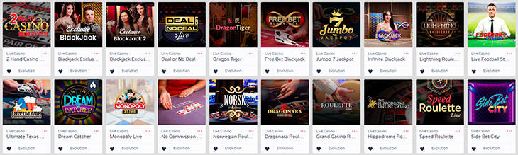 GetLucky live casino