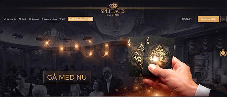 SplitAces Casino första intryck är allt