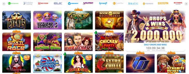 Ego Casino spel